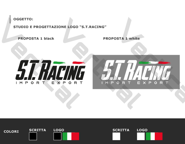 Logo ST Racing