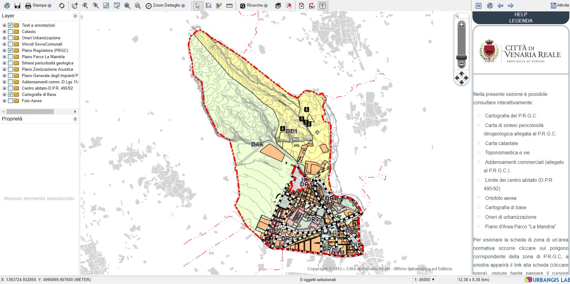 Mappa webgis mapguide os
